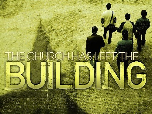 the_church_has_left_the_building_logo